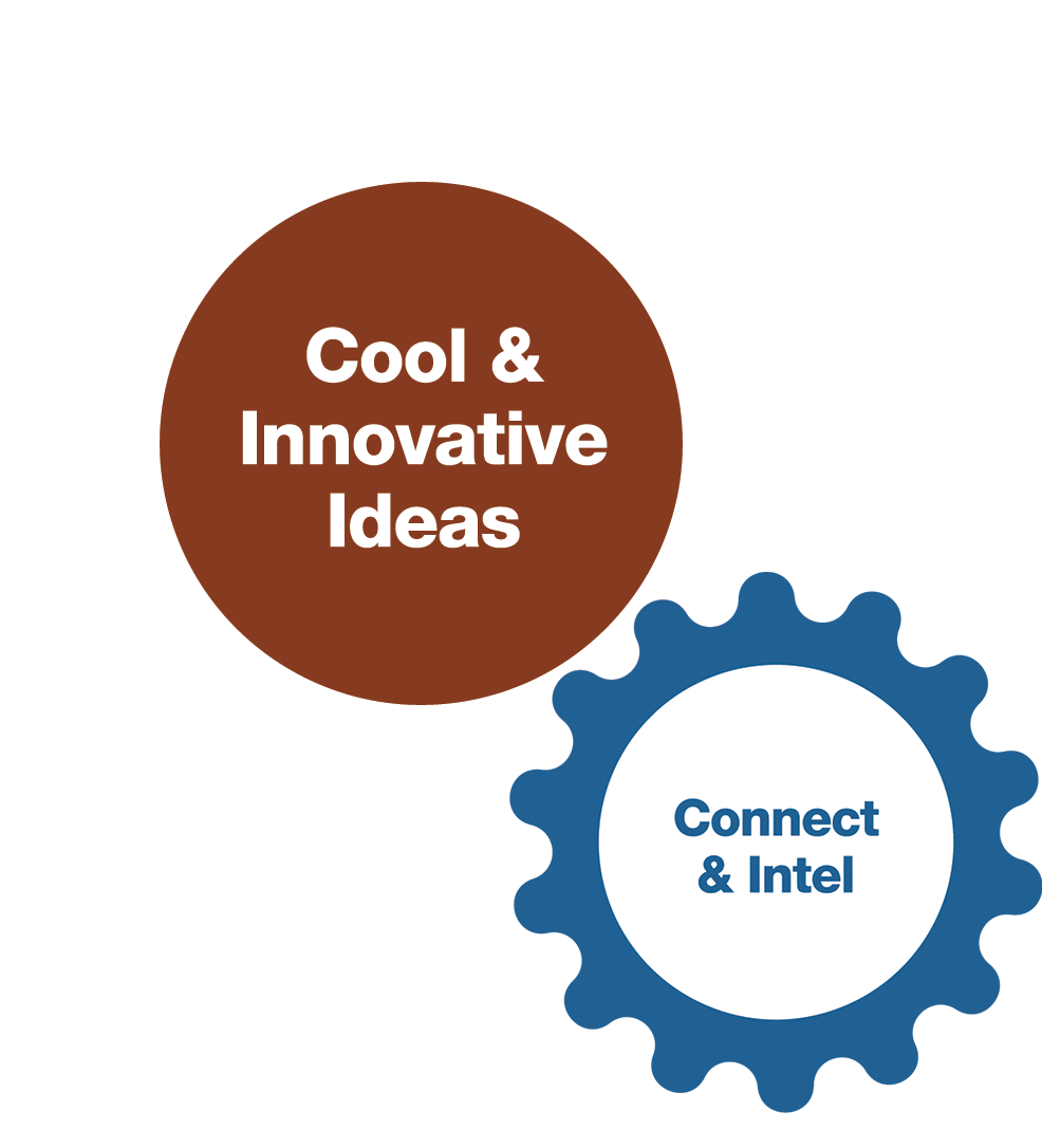 Connect & Intel/Cool & Innovative Ideas Gears